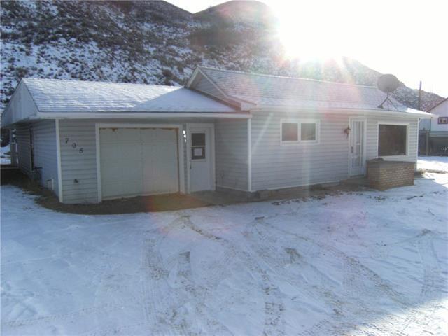 705 Secondary Hiway 576, Drumheller, AB T0J 0Y0 (#C4225841) :: Redline Real Estate Group Inc