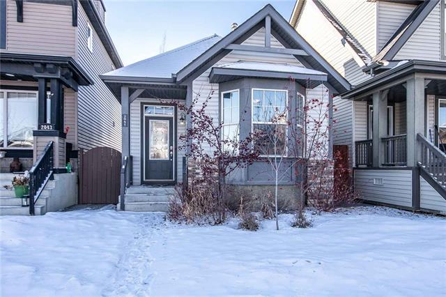 2041 New Brighton Gardens SE, Calgary, AB T2Z 4X4 (#C4225844) :: The Cliff Stevenson Group