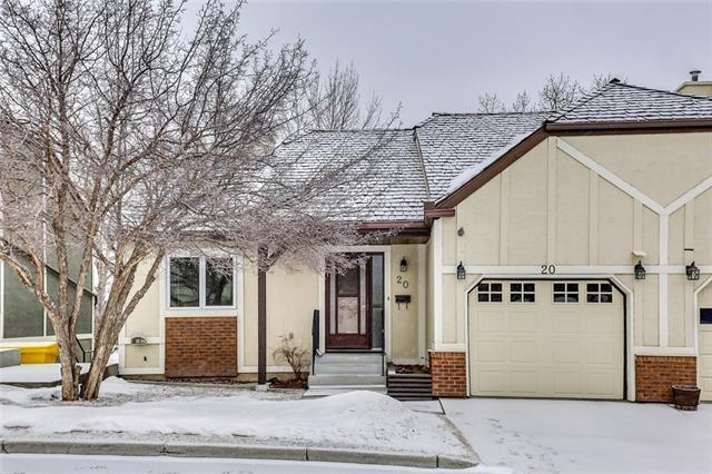 20 Coach Side Terrace SW, Calgary, AB T3H 2T3 (#C4226001) :: Redline Real Estate Group Inc