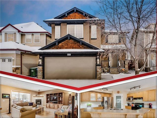 56 Cougarstone Villa(S) SW, Calgary, AB T3H 4Z6 (#C4226059) :: Redline Real Estate Group Inc