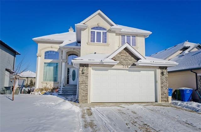 208 Springmere Place, Chestermere, AB T1X 1J2 (#C4226149) :: Canmore & Banff