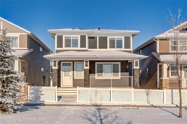 63 Redstone Gardens NE, Calgary, AB T3N 0J8 (#C4226207) :: Redline Real Estate Group Inc