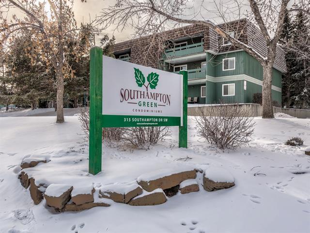 315 Southampton Drive SW #8206, Calgary, AB T2W 2T6 (#C4226357) :: Calgary Homefinders