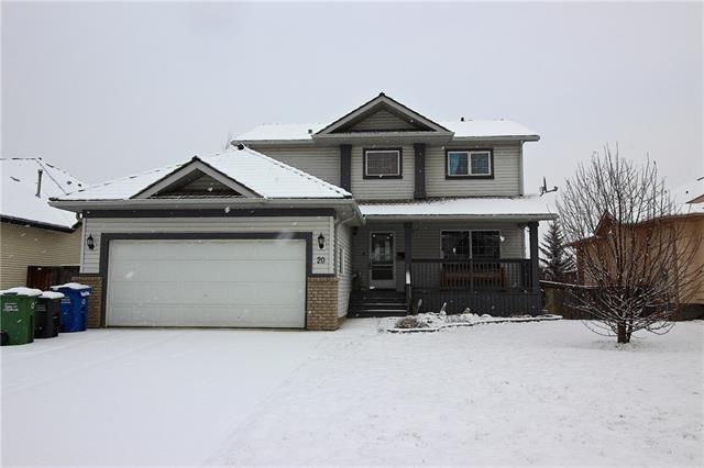 20 Bow Ridge Road, Cochrane, AB T6Y 1T7 (#C4226363) :: Redline Real Estate Group Inc