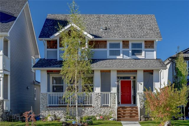 68 Heritage Drive, Cochrane, AB T4C 0E2 (#C4226562) :: Redline Real Estate Group Inc
