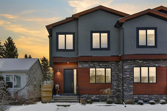 221 23 Avenue NW, Calgary, AB T2M 1S3 (#C4226568) :: Canmore & Banff