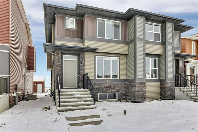119 Cornerstone Avenue NE, Calgary, AB T3N 1G7 (#C4226773) :: Canmore & Banff