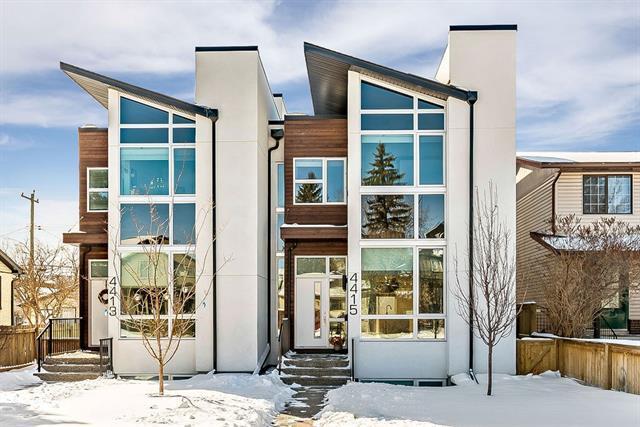 4415 19 Avenue NW, Calgary, AB T3B 0R8 (#C4226835) :: The Cliff Stevenson Group