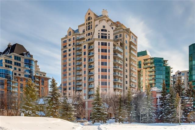 200 La Caille Place SW #602, Calgary, AB T2P 5E2 (#C4226978) :: Redline Real Estate Group Inc