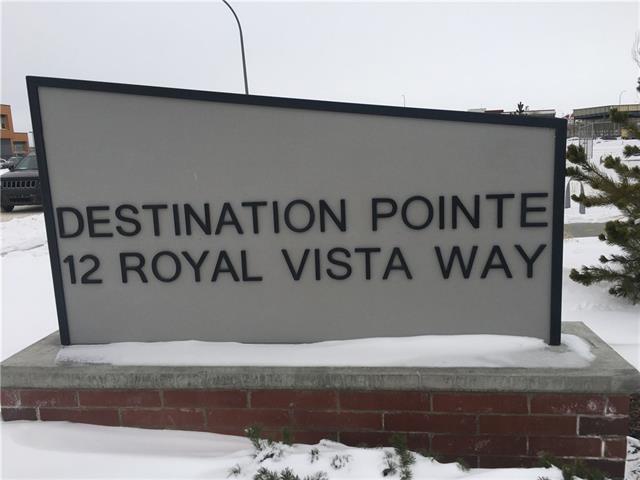 12 Royal Vista Way NW 1218, Bldg A, Calgary, AB T3R 0N3 (#C4227031) :: The Cliff Stevenson Group