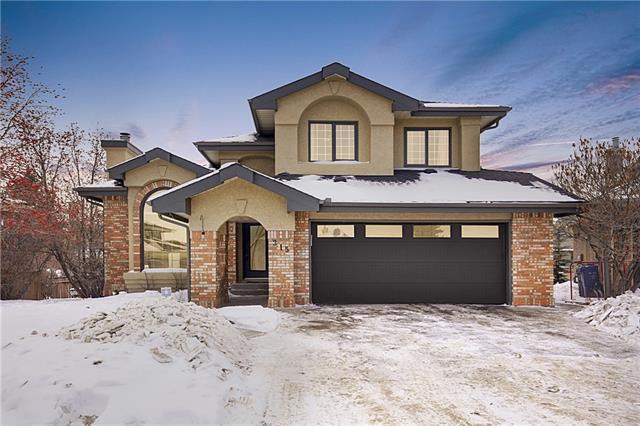 315 Christie Knoll Point(E) SW, Calgary, AB T3H 2Z4 (#C4227109) :: Redline Real Estate Group Inc