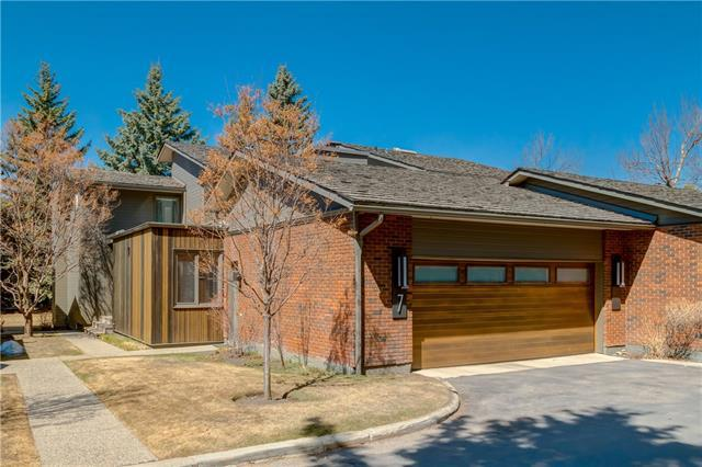 68 Baycrest Place SW #7, Calgary, AB T2V 0K6 (#C4228602) :: Canmore & Banff