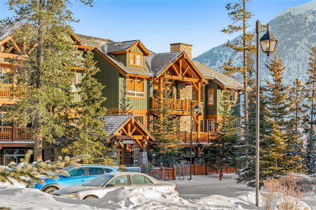 104 Armstrong Place #124, Canmore, AB T1W 3L5 (#C4228622) :: Canmore & Banff