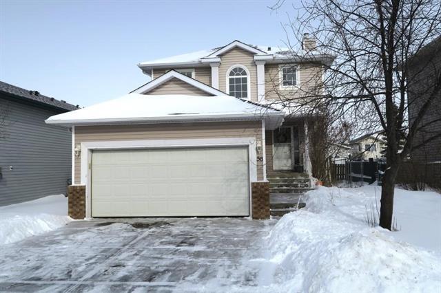 56 Silver Creek Boulevard NW, Airdrie, AB T4B 2P6 (#C4228723) :: Calgary Homefinders