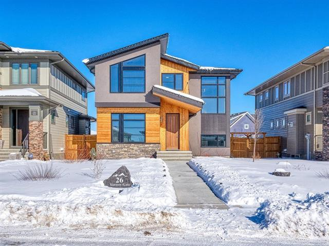 26 Yarrow Gate, Rural Rocky View County, AB T3Z 0C8 (#C4228896) :: Calgary Homefinders