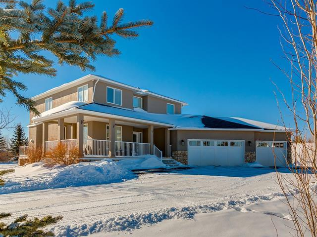 149 Bearspaw Hills Road, Rural Rocky View County, AB T3R 1B3 (#C4228968) :: The Cliff Stevenson Group