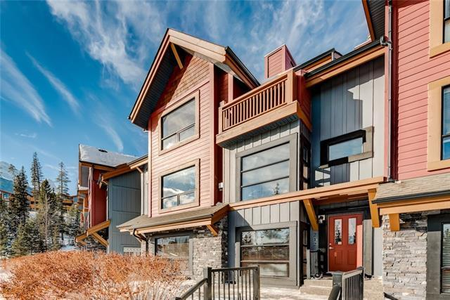 80 Dyrgas Gate #212, Canmore, AB T1W 3M7 (#C4229114) :: Calgary Homefinders