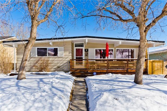 7632 7 Street NW, Calgary, AB T2K 1E8 (#C4229229) :: The Cliff Stevenson Group