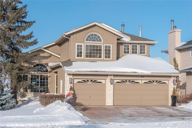 40 Country Hills Close NW, Calgary, AB T3K 3Y9 (#C4229369) :: Calgary Homefinders
