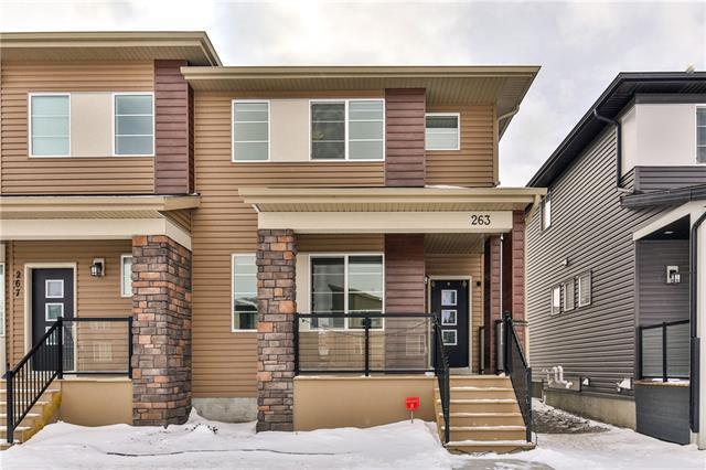 263 Cornerstone Avenue NE, Calgary, AB T3N 1H5 (#C4229403) :: Canmore & Banff