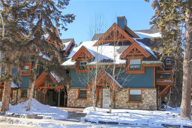 347 Marten Street #202, Banff, AB T1L 1A2 (#C4232149) :: Canmore & Banff