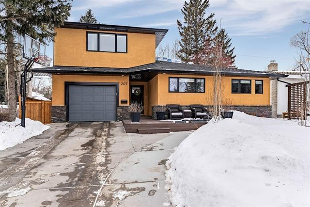 207 Wildwood Drive SW, Calgary, AB T3C 3E2 (#C4232197) :: The Cliff Stevenson Group