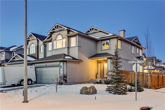 50 West Pointe Manor, Cochrane, AB T4C 0C1 (#C4232276) :: The Cliff Stevenson Group