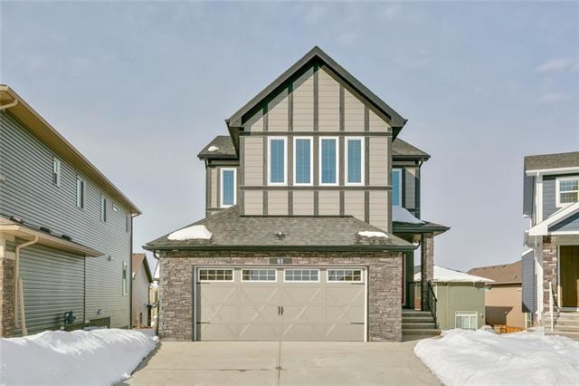 61 Banded Peak View, Okotoks, AB T1S 5P7 (#C4232425) :: Calgary Homefinders