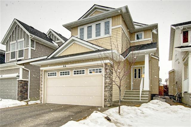 44 Redstone Drive NE, Calgary, AB T3N 1B5 (#C4232431) :: Calgary Homefinders