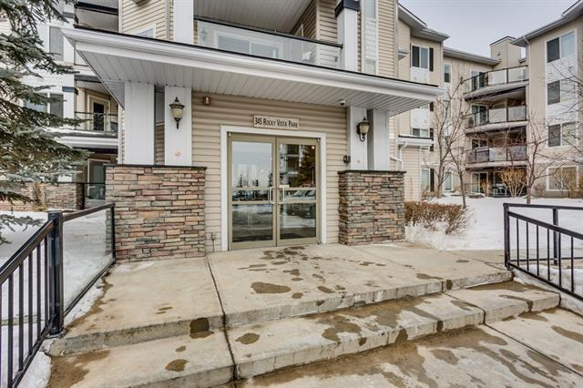 345 Rocky Vista Park NW #411, Calgary, AB T3G 5K6 (#C4232477) :: Redline Real Estate Group Inc
