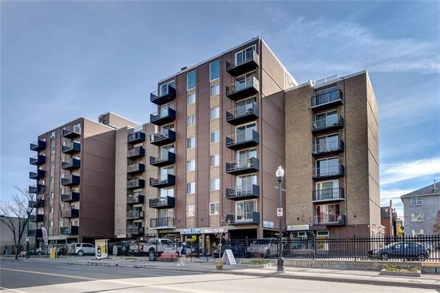 515 17 Avenue SW 6F, Calgary, AB T2S 0A9 (#C4232956) :: Calgary Homefinders