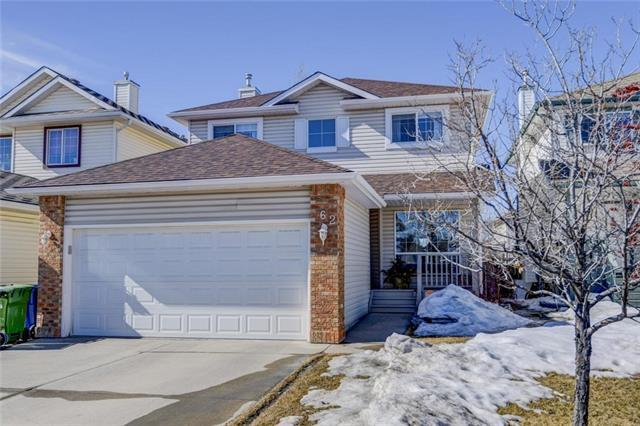 62 Coventry Crescent NE, Calgary, AB T3K 4Y8 (#C4233070) :: Canmore & Banff