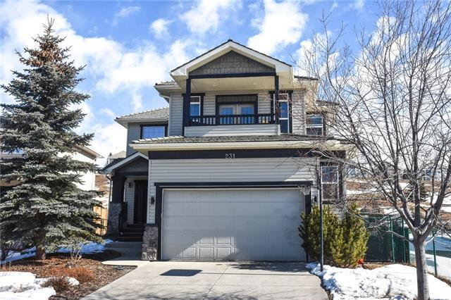 231 Gleneagles View, Cochrane, AB T4C 2G5 (#C4233226) :: The Cliff Stevenson Group