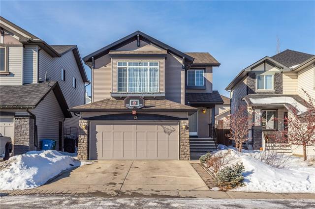 28 Brightonstone Gardens SE, Calgary, AB T2Z 0C7 (#C4233244) :: Calgary Homefinders