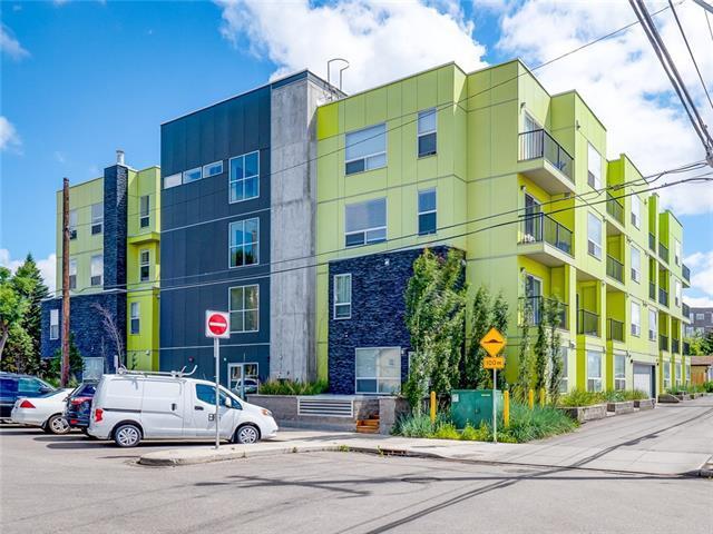 1740 9 Street NW #409, Calgary, AB T2V 1A1 (#C4233311) :: The Cliff Stevenson Group