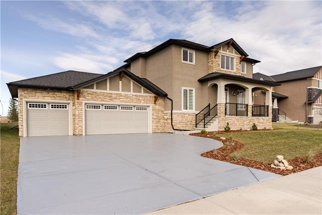 10 Monterra Way, Rural Rocky View County, AB T4C 0H1 (#C4233449) :: Calgary Homefinders