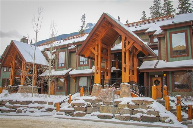 107 Armstrong Place #622, Canmore, AB T1W 3M1 (#C4233515) :: Canmore & Banff
