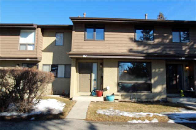 2300 Oakmoor Drive SW #87, Calgary, AB T2V 4N7 (#C4233554) :: Redline Real Estate Group Inc
