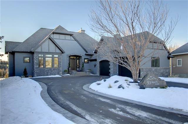 53 Majestic Point(E), Rural Rocky View County, AB T3Z 2Z9 (#C4233573) :: Canmore & Banff