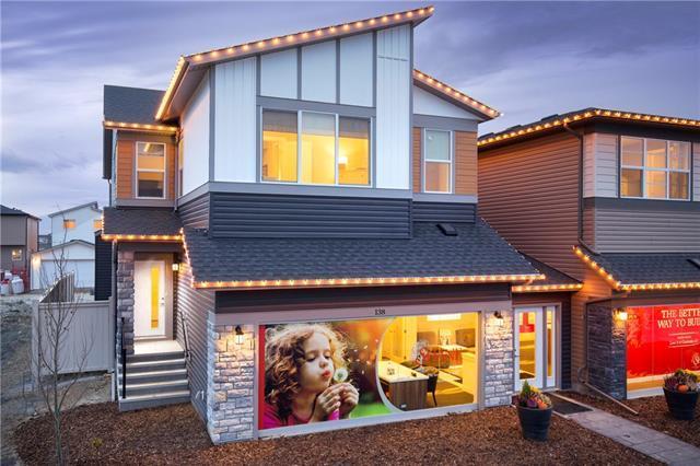138 Cornerstone Circle NE, Calgary, AB T3N 1G9 (#C4233675) :: Canmore & Banff