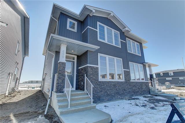 699 Redstone Drive NE, Calgary, AB T3N 1K9 (#C4233794) :: Calgary Homefinders
