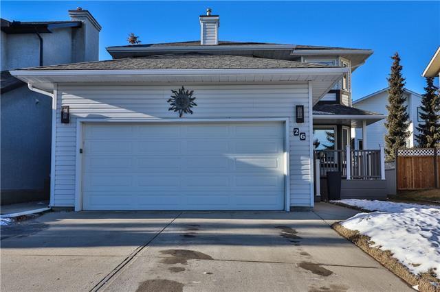 26 Macewan Ridge Place NW, Calgary, AB T3K 3M1 (#C4233843) :: Calgary Homefinders