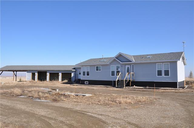 211043 Range Road 260, Rural Vulcan County, AB T0L 2B0 (#C4234000) :: Calgary Homefinders