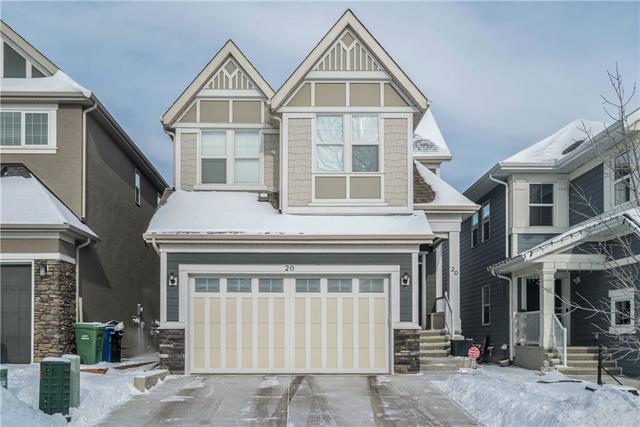 20 Mahogany Mount SE, Calgary, AB T3M 2K4 (#C4234003) :: The Cliff Stevenson Group