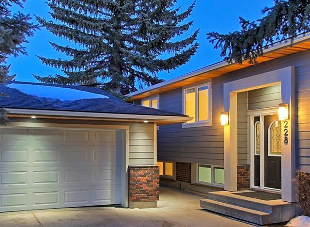 228 Parkland Way SE, Calgary, AB T2J 4K9 (#C4234079) :: Calgary Homefinders