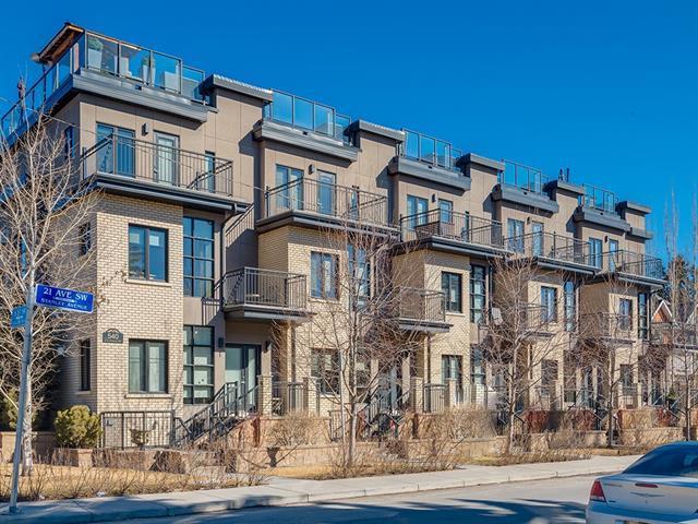 540 21 Avenue SW #3, Calgary, AB T2S 0H1 (#C4235217) :: Calgary Homefinders