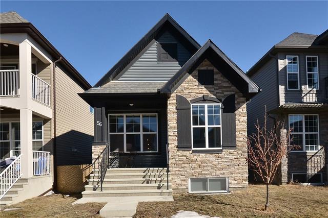 56 Cranford Park SE, Calgary, AB T3M 1Z4 (#C4235252) :: Calgary Homefinders