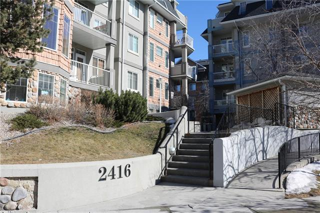 2416 Erlton Street SW #406, Calgary, AB T2S 3B7 (#C4235374) :: Redline Real Estate Group Inc