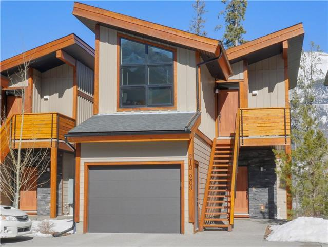 210 Riva Heights, Canmore, AB T1W 3L4 (#C4235405) :: Canmore & Banff