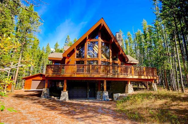 8 Lake Shore Drive, Rural Kananaskis I.D., AB T1W 2H0 (#C4235486) :: Canmore & Banff